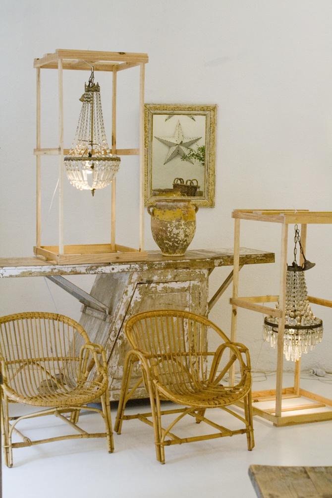 "New vintage furniture shop ""CARAVAN"", in Madrid. More info ..."