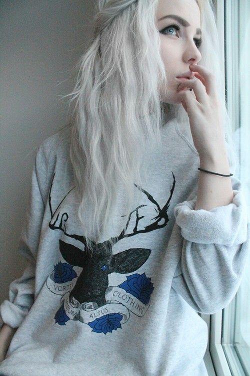 Scene Girl Fashion Tip Nº14: Go short or long with your hair - http://ninjacosmico.com/22-style-tips-scene-girl/