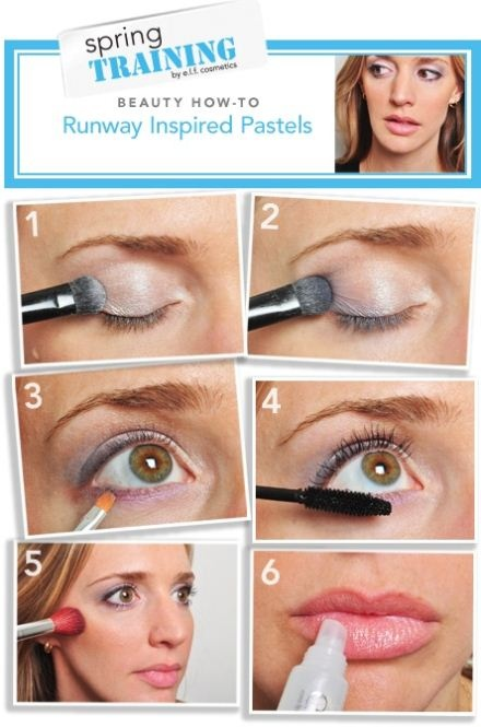 Make up. How to runaway inspired pastels