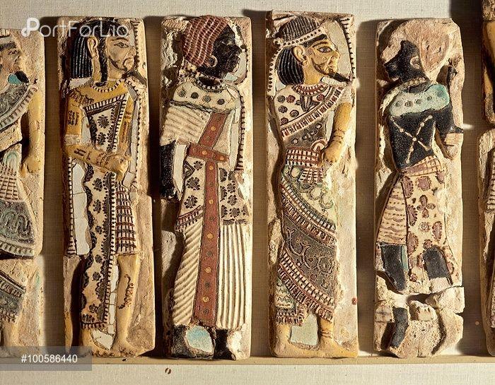 Image result for medinet habu royal palace paintings