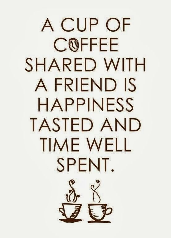 Coffee talk should never be underrated.