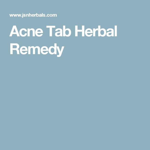 Acne Tab Herbal Remedy