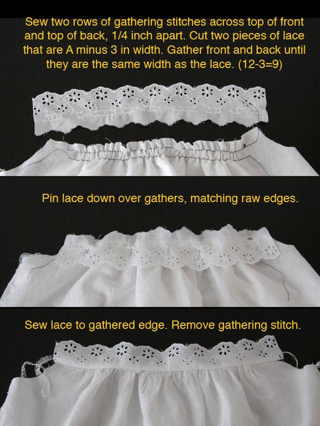 super sweet girl's white lace blouse tutorial - itsalwaysautumn - it's always autumn