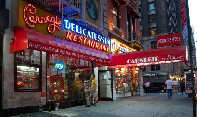 Carnegie Deli, one of New York's most well-known Jewish delis and a popular tourist spot, has been shut down by the city for a possible illegal gas siphoning operation.