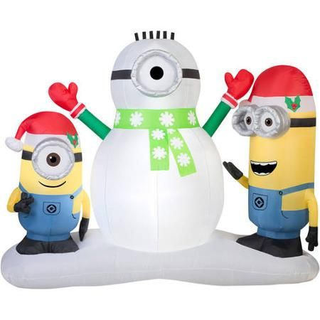 Astonishing 1000 Ideas About Inflatable Christmas Decorations On Pinterest Easy Diy Christmas Decorations Tissureus