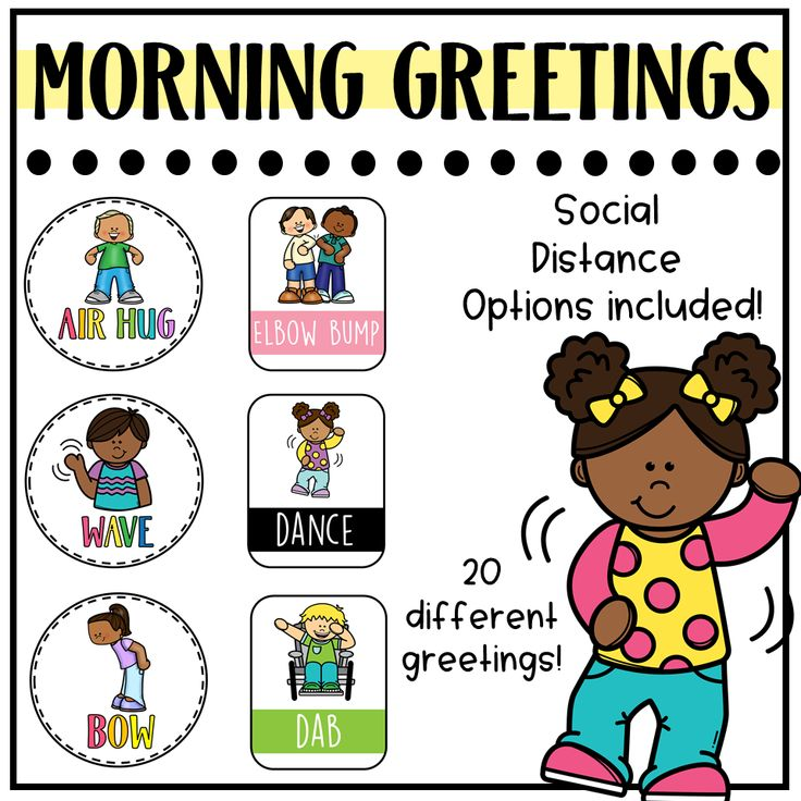 Morning Greetings Signs Social Distance Options! in 2020