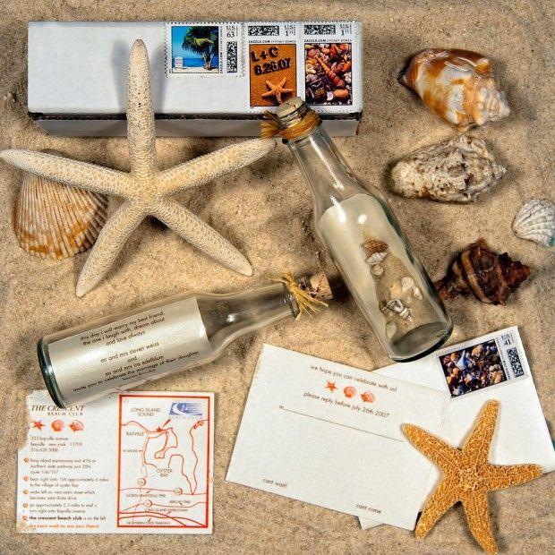 ¡Ya tenemos las invitaciones de mensaje en una botella en Mi Boda Bonita www.mibodabonita.es!