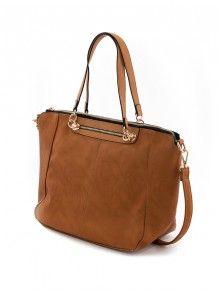 Dámska štýlová kabelka v kávovej farbe už u nás. Stav na JUSTPLAY a buď IN!