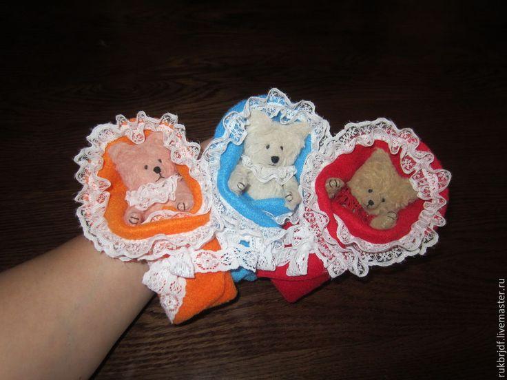 Купить Мишки-малышки - разноцветный, мишка, мишка ручной работы, игрушка ручной работы