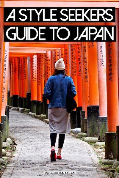 A Style Seekers Guide to Japan Haute Culture Fashion