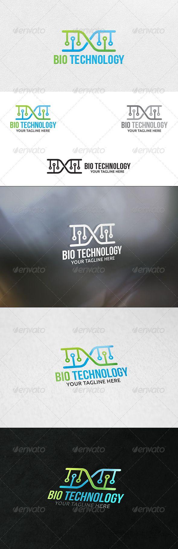 Bio Technology - Logo Template