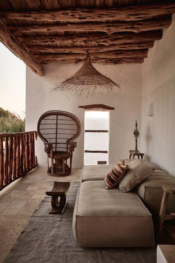 outdoor | natural materials | terraza exterior en materiales naturales