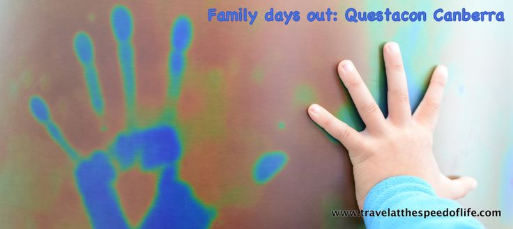 Family days out: Questacon Canberra