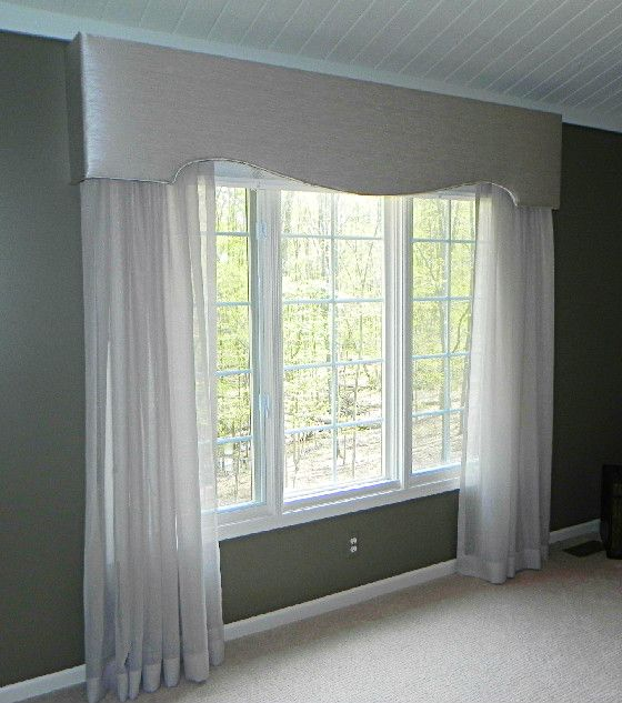 Cornice Board And Sheer Panels In 2020 Blinds For