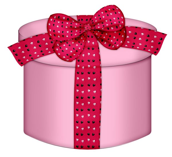 155 best present clipart images on pinterest gift boxes natal pink heart round gift box png clipart negle Gallery
