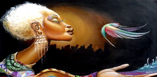 30 Stunning Black woman Paintings and Illustrations by Frank Morrison. Read full article: http://webneel.com/webneel/blog/30-stunning-black-woman-paintings-illustrations-frank-morrison | more http://webneel.com/paintings | Follow us www.pinterest.com/webneel