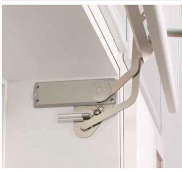 Vertical Swing Lift-Up Mechanism