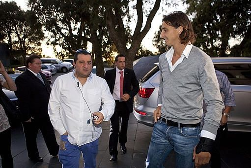 """Raiola: """"Ibrahimovic giocherà fino a 43 anni"""" - http://www.maidirecalcio.com/2015/03/06/raiola-ibrahimovic-giochera-fino-a-43-anni.html"""