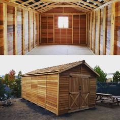 Need something a little bigger? No problem. Here's a Rancher 10x20 that could provide plenty of space for your ATV snowmobiles lawnmowers tractor etc. www.cedarshed.com #oregon #cedarshed #cedar #shed #sheds #cabin #storage #tinyhome #tinyhouse #landscaping #landscape #garden #gardening #mancave #carpentry #wood #woodworking #outdoors #outdoorliving #atv #dirtbike #snowmobile #tractor #construction #tools #toolshed #canada #britishcolumbia #okanagan by cedarshed