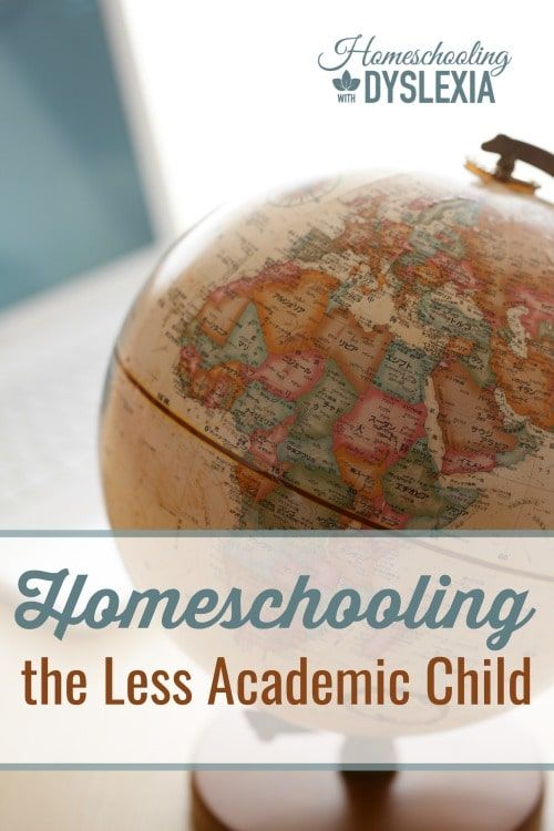 Homeschooling the Less Academic Child  Does a child need to be 'academic' to succeed in school? If not, what does that look like?
