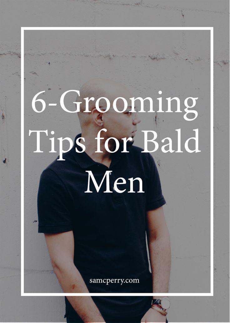 6 Grooming Tips for Bald Men