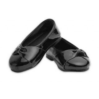 Celebration Shoes: Black patent shoes are perfect for special occasions.