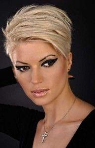 Heel veel prachtige blonde kapsels voor kort haar en halflang haar!