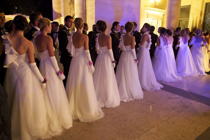 Debuttanti 2012 al Gran Ballo Viennese di Roma - Acquario Romano