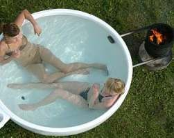32+ Ideas wood burning stove diy hot tubs