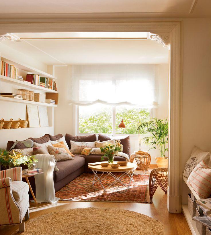 M s de 1000 ideas sobre casa redonda en pinterest - Salon comedor con mesa redonda ...