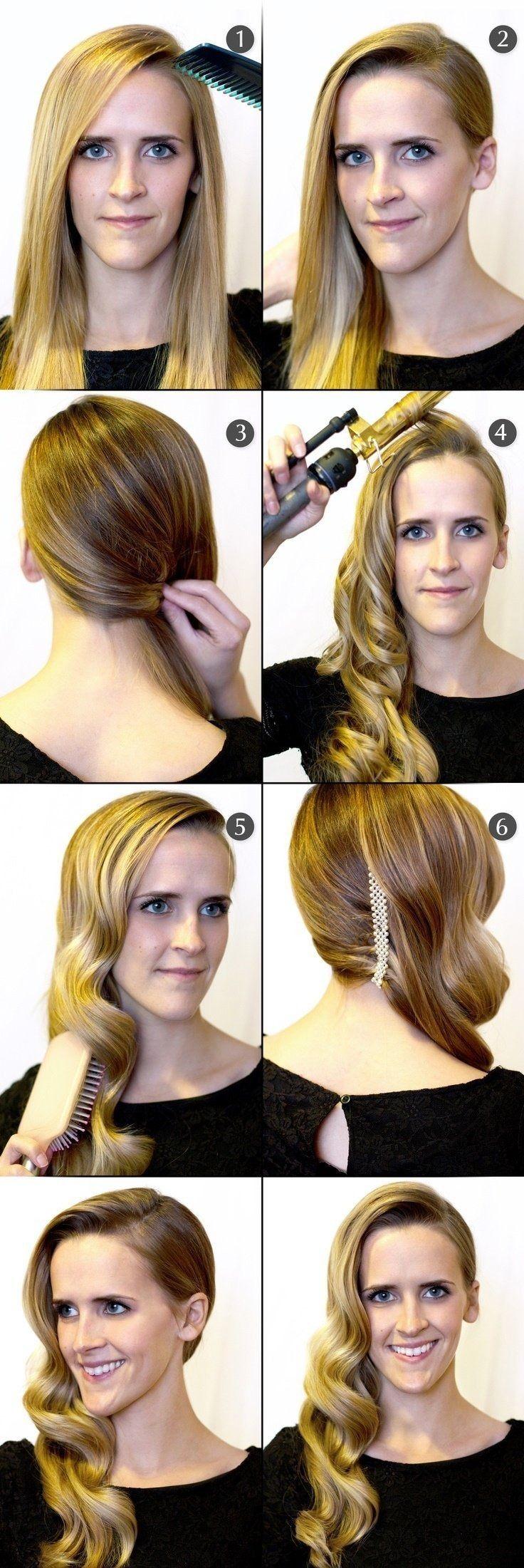 Diese Schritt-für-Schritt-Frisur für mittleres Haar in Hindi