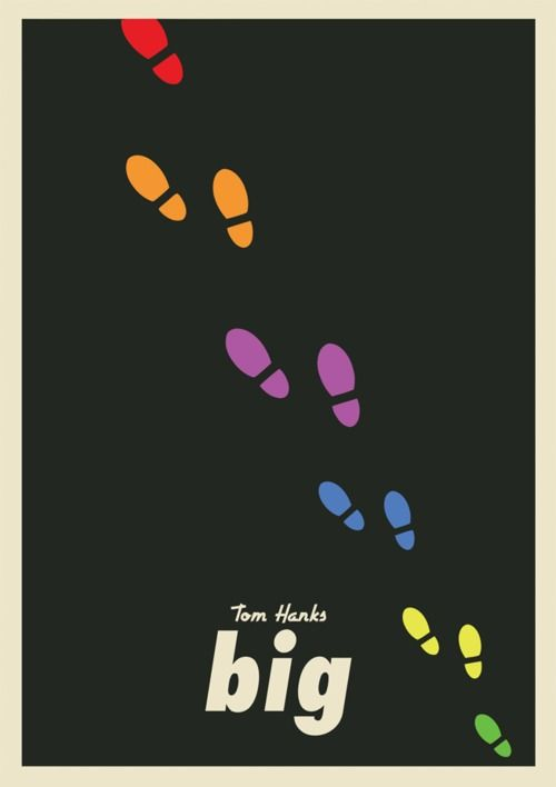 Minimal Movie Posters - Big by Adam Armstrong