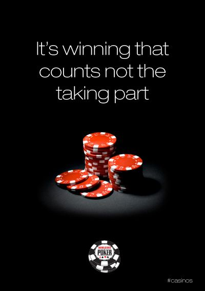 In poker, winning is all that matters. Not every hand, but overall.
