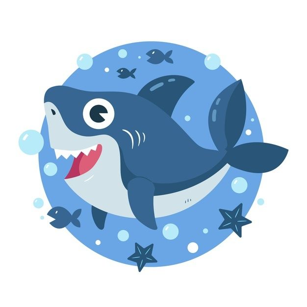 Download Baby Shark In Cartoon Style Concept for free in ...
