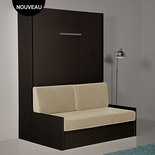 armoire lit escamotable avec canape bz73 jornalagora. Black Bedroom Furniture Sets. Home Design Ideas