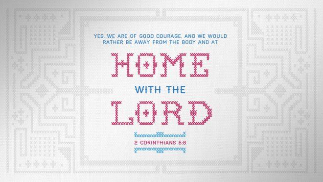 2 Corinthians 5:8