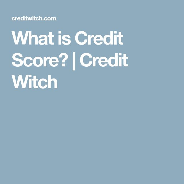 What is Credit Score? | Credit Witch