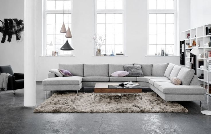 BoConcept Houston - Indivi2 sectional.  Highly customizable in more than 90 fabrics and 112 frame options.