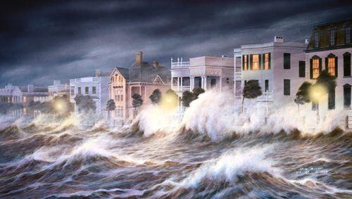 Hurricane Hugo Hits Charleston South Carolina 1989