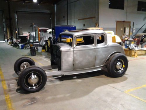All steel 1932 ford 5 window coupe body chopped hot rod for 1932 ford 5 window coupe body