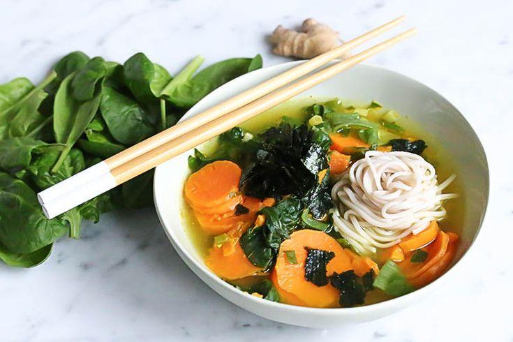 Miso Soba Noodle Soup (The Green Creator (EN))