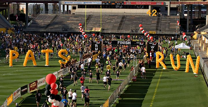 Pat's Run- April 26  Participate in the annual Pat's Run in memory of ASU alum Pat Tillman.
