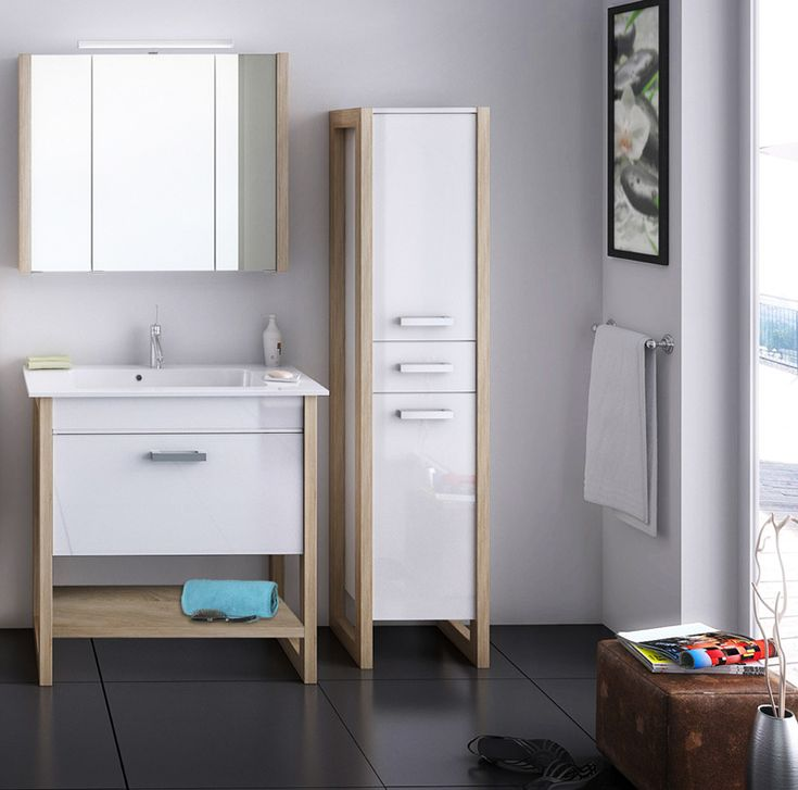 Más de 25 ideas increíbles sobre Badezimmer eiche en Pinterest - badezimmermöbel weiß hochglanz