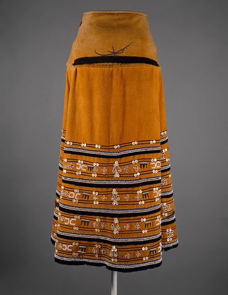 Textile Skirt [South Africa; Xhosa people] (1993.373) | Heilbrunn Timeline of Art History | The Metropolitan Museum of Art