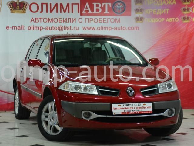 Renault Megane II Рестайлинг, 2010 г.в. -
