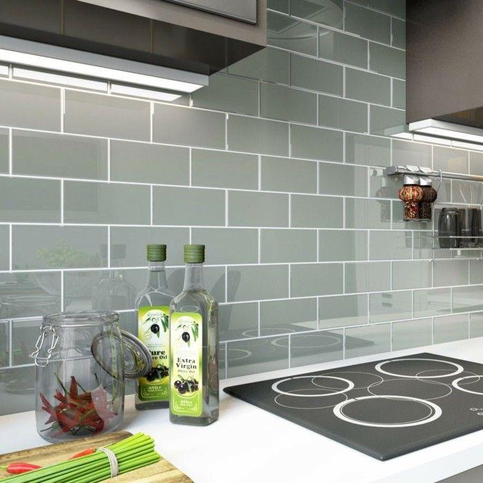 Metrofliesen in Küche und Bad - Schöne Ideen für Wand- und ...