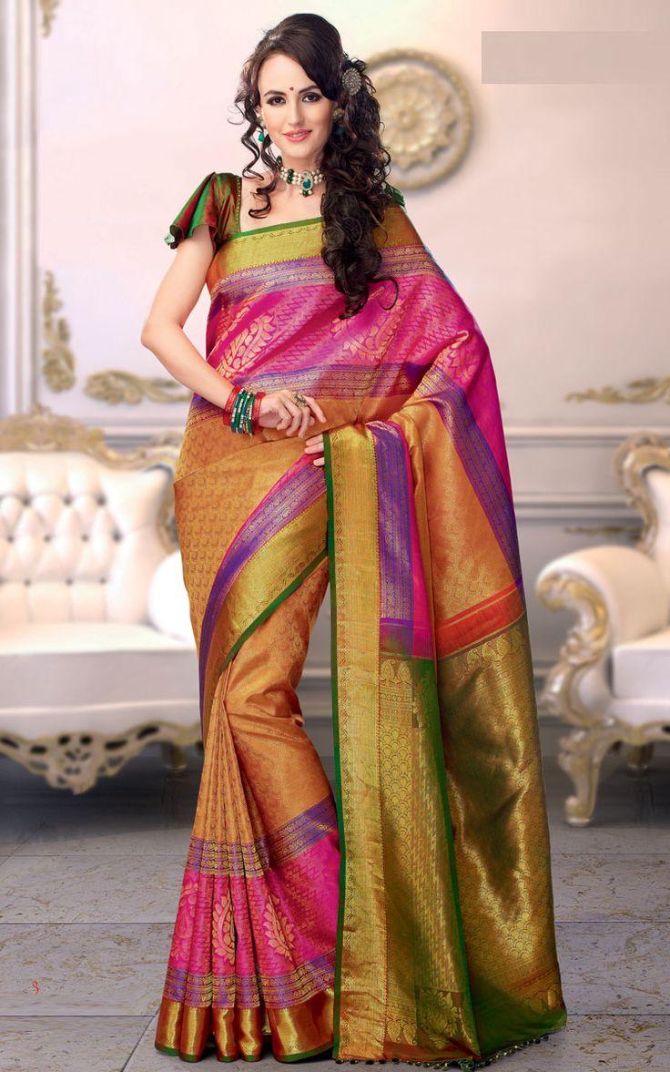 Kanchipuram Silk Saree DA03