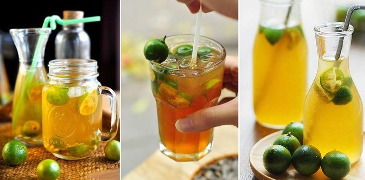 2 cách pha trà quất mật ong 90 #cách_pha_trà #trà_quất #chè_khô #mật_ong #blogbeemart #beemart #beemartvn