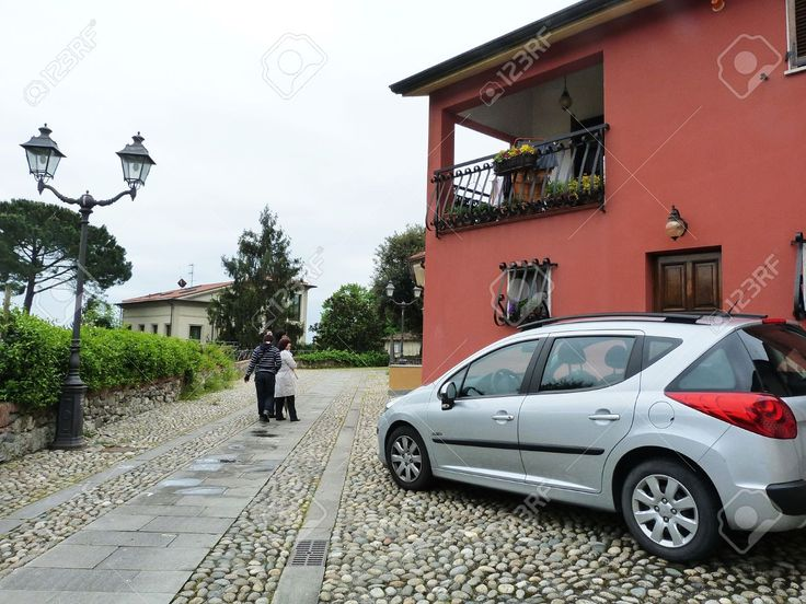 Italy, Sarzana, View Of A Street 3 Stock Photo, Picture And Royalty Free Image. Pic 14816606.