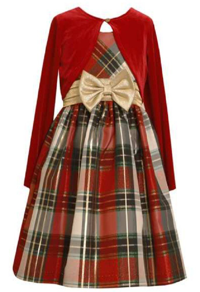 Super 19 best Red Bow Girls Christmas Dress images on Pinterest | Bonnie  AP91